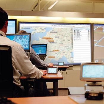 2-wegscommunicatie - volg mobiele werknemers op - Track and trace